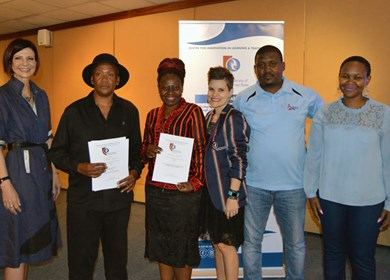 CUT mentors honoured and awarded for hard work and dedication