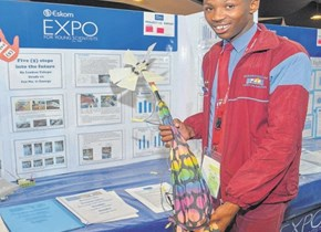 Eskom Expo/STEM Academy Science Camps learner shines at the virtual 2020 Africa Science Buskers Festival