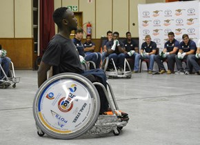 CLO hosts wheelchair rugby to raise awareness