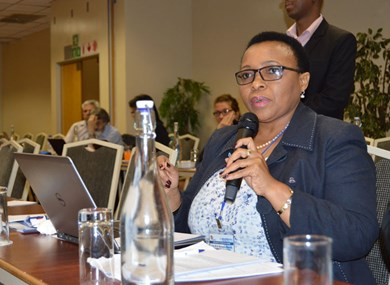 Prof.  'Mabokang bids CUT goodbye to step up to her new role at Rhodes University
