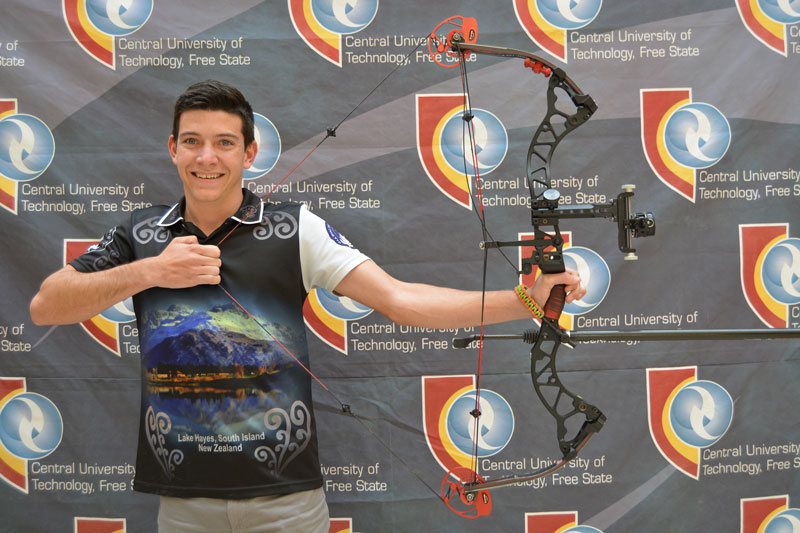 CUT student shines at archery championships