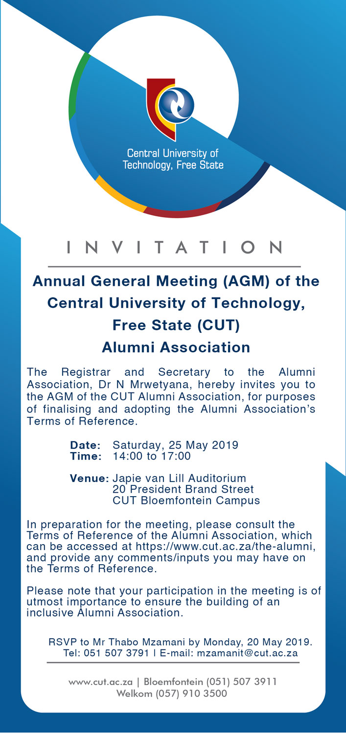 Alumni Association: Annual General Meeting (AGM)