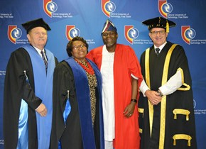 Prof. Fidelis Emuze inducted into the 'academic hall of fame'