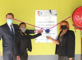 CUT Welkom Campus launches Idea Generator (i-GYM) and Fabrication Lab (FabLab)