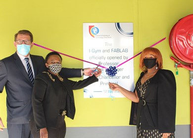 CUT Welkom Campus launches Idea Generator (i-GYM) and Fabrication Lab (FabLab)