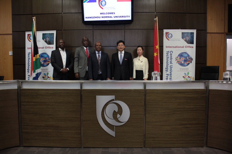 New partnership between CUT and Hangzhou Normal University will bring growth for Free State