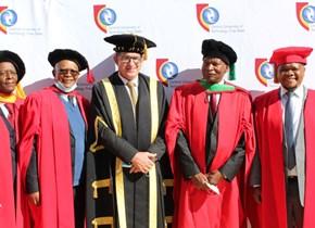 CUT honours Free State Education MEC Tate Makgoe