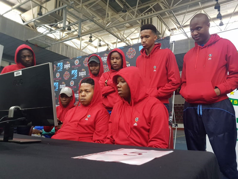 CUT gaming students put their skills to the test at the first USSA eSport championships