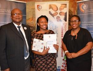 Business Management Department celebrates top achievers
