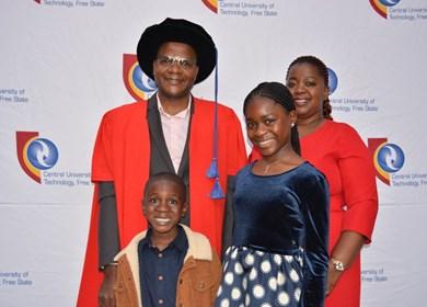 Prof. Rambe entrepreneurial fundi inaugurated as full professor
