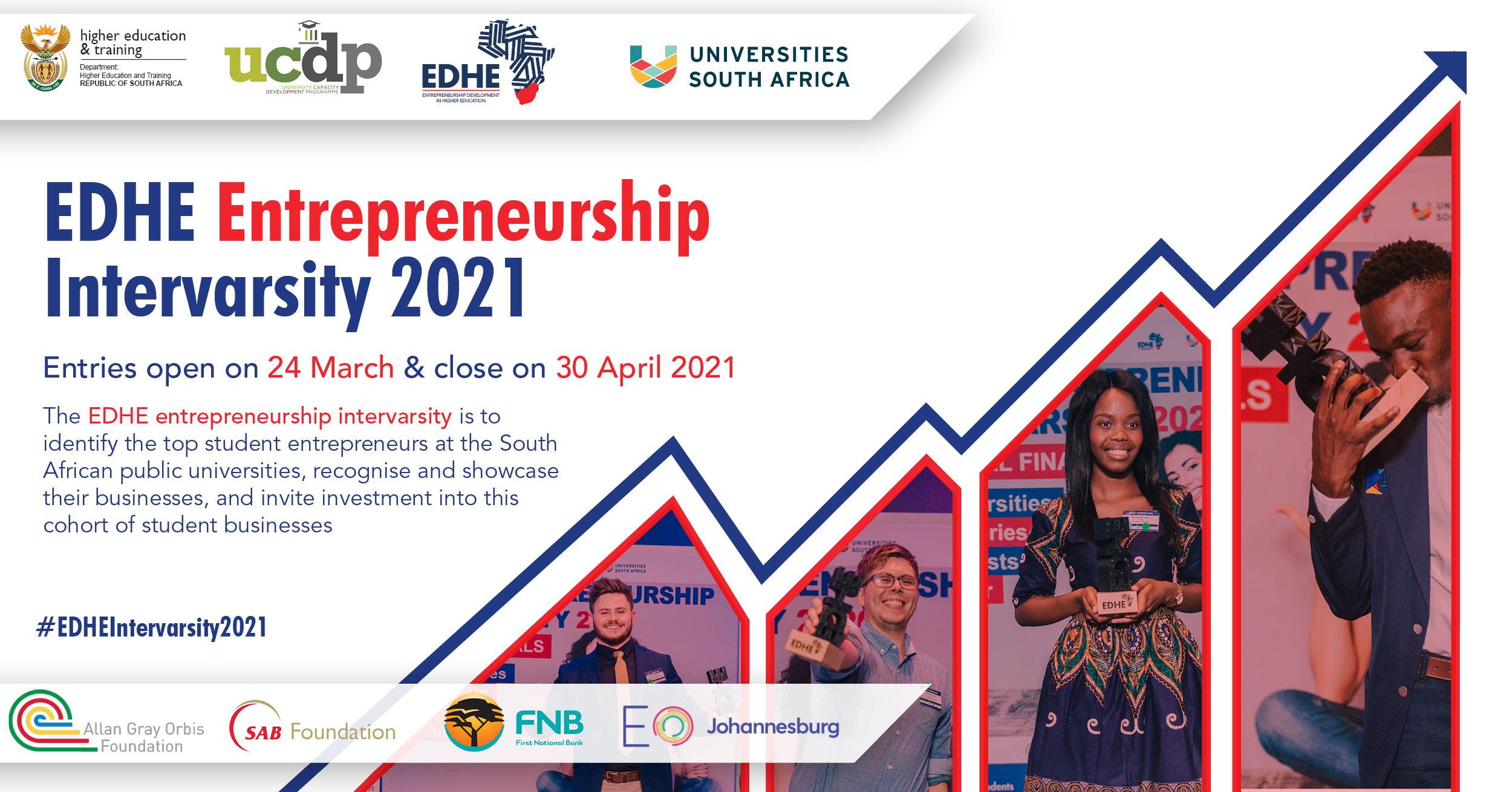 Entrepreneurship Development in Higher Education (EDHE) Intervarsity 2021