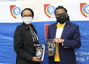 CUT's Prof. Makola releases his third book titled '70 Women and One Man'