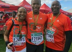 CUT Chancellor runs her first Two Oceans Marathon