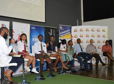 2nd Annual Free State Youth Leadership Summit debate Grade 9 as exit point