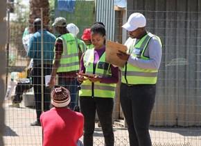 CUT students collaborate with Mangaung Metro to conduct Environmental Health survey at Joe Slovo Square township