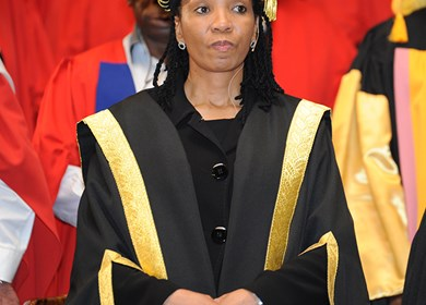 CUT Chancellor receives an honorary degree