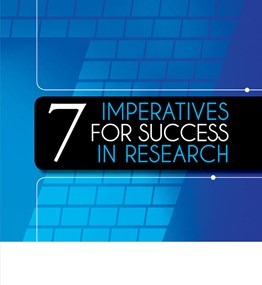CUT Publication: 7 Imperatives for Success in Research