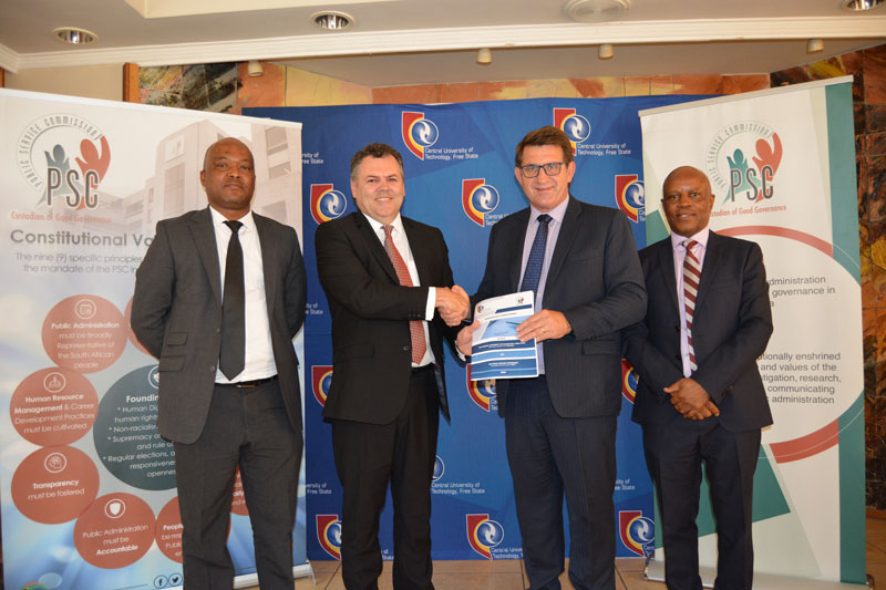 CUT and PSC partner to address challenges in the public sector