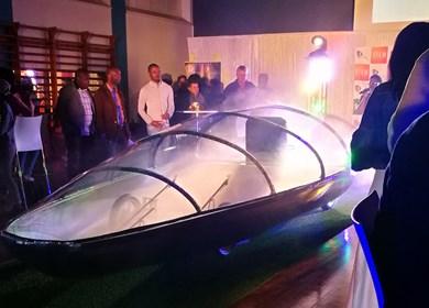 CUT solar car launch