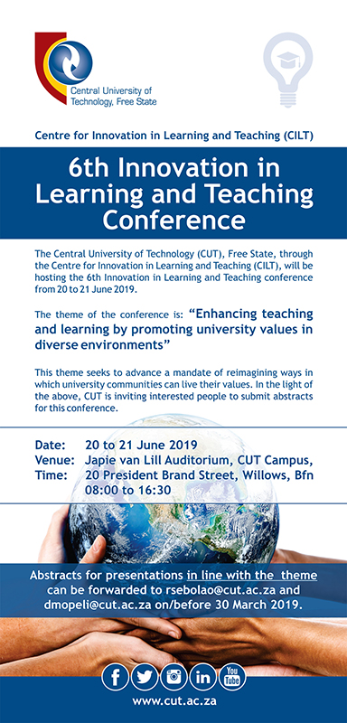 6th Innovation in Learning and Teaching Conference
