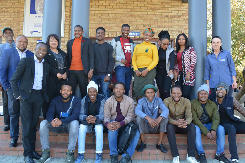 Welkom Campus hosts first entrepreneurship pitching session