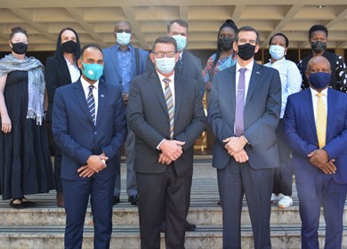 U.S. Consulate Johannesburg visits CUT